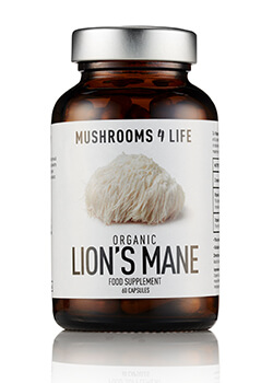Lion's Mane paddenstoelsupplement