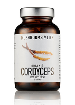 Cordyceps paddenstoelsupplement