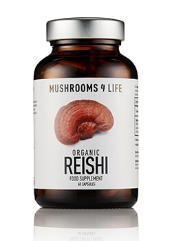 Reishi paddenstoelsupplement