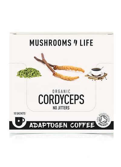 Cordyceps adaptogeen koffie