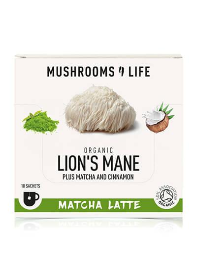 Lion's Mane Matcha mushroomlatte
