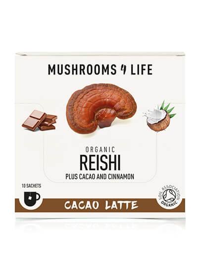 Mushroom latte Reishi Cacao