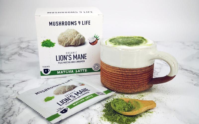 Nieuwe producten Mushroomlattes en koffies