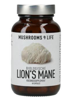 Lion's Mane biologisch paddenstoelsupplement