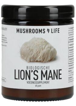 Lion's Mane poeder biologisch Mushrooms4life