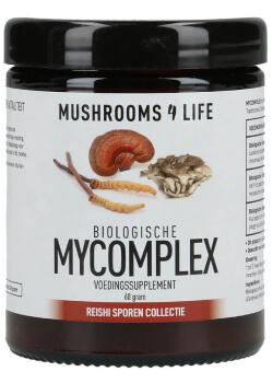 MyComplex Paddenstoelen poeder biologisch mushrooms4life