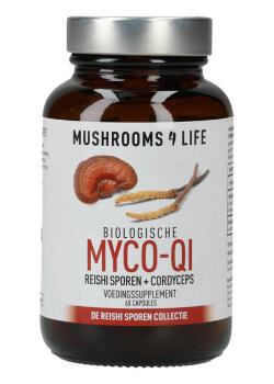 Myco qi organische paddenstoelen capsules mushrooms4life