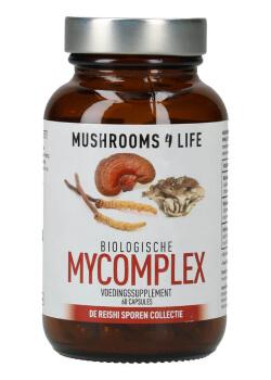 Mycomplex organische paddenstoelen capsules mushrooms4life